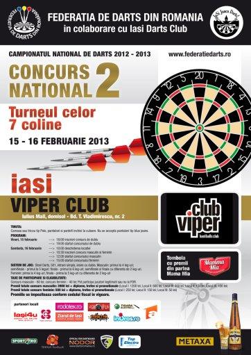 Concurs de darts