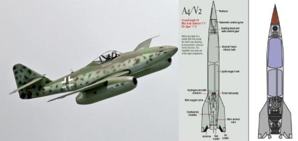 Messerschmitt Me 262 V1 and V2